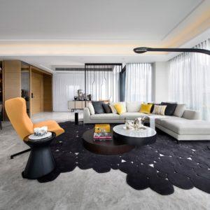 Nội thất phòng khách đẹp và sang trong theo phong cách hiện đại