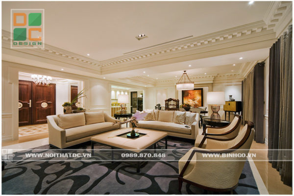 Thiết kế nội thất Penthouse E4 Vũ Phạm Hàm