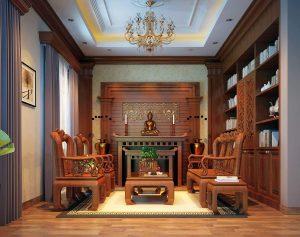 Thi công biệt thự bằng gỗ tự nhiên