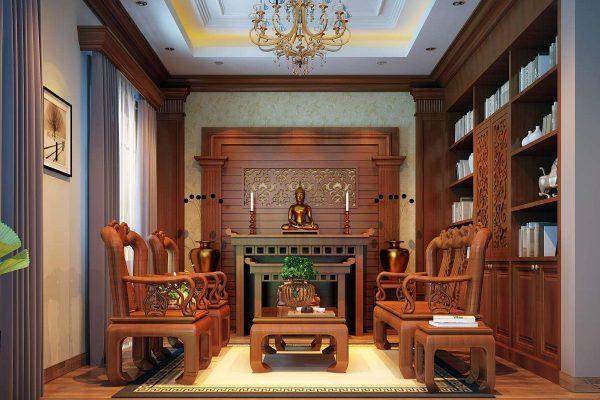Thi công nội thất biệt thự gỗ tự nhiên