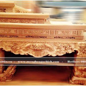 Sập Thờ Tam cấp gỗ Gụ và Sập thờ Tam Cấp gỗ gỗ là sản phẩm đặt biệt cao cấp. Trên thị trường hiện tại phổ biến là sập thờ đại hoặc sập thờ trung. Do đó việc sở hữu và đưa và xử dụng sập thờ này khẳng định vị thế của gia chủ và gia tộc đó.