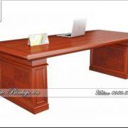 Bàn họp gỗ tự nhiên mẫu hiện đại. Đây là mẫu bàn họp được dùng phổ thông nhất hiện nay. Bàn họp thiết kế theo phong cách hiện đại, nó phù hơp với nhiều loại bàn giám đốc. Bàn họp có kích thước: 240x120x75cm. Có thế đặt phía trước bàn Giám Đốc hoặc để bên cạnh ( tùy thuộc không gian thiết kế ).