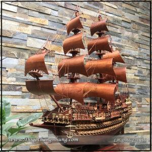 Thuyền buồm phong thủy quà tặng ý nghĩa năm 2021