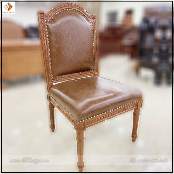 Ghế họp chân tĩnh gỗ tự nhiên. Mẫu Ghế Họp Putin - Mã: Putin - 68.